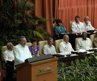 Sesión Inaugural del VI Congreso del Partido Comunista de Cuba. Foto Juventud Rebelde
