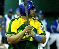 Yosvany Peraza, bateador estelar del equip de Pinar del Río