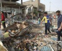 Atentado en Irak. Foto AFP