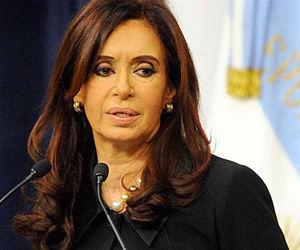Viajará hoy a Caracas Presidenta argentina