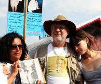 El poeta Javier Sicilia encabezó la Marcha Nacional por la Paz y la Justicia del domingo 8 de mayo, la cual reunió a 100,000 mexicanos. Foto: Cuartoscuro Archivo
