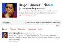 Hugo Chávez celebra llegada de Zelaya a Honduras