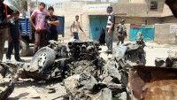Al menos 15 polícias muertos y 25 heridos tras atentado en Iraq. Foto AFP