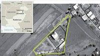 Imagen satelital de la residencia donde se supone estaba Osama Bin Landen en la ciudad de Abbottabad, en Pakistán. Foto Pentágono