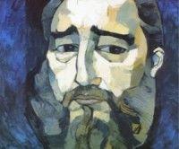 Pintura de Guayasamin a Fidel por su 55 cumpleaños