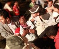 Protestas en Yemen. Foto: REUTERS/Khaled Abdullah