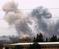 Bombardeos en Libia. Foto AFF/ Getty Imagen