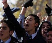Estudiantes chilenos protestan contra la privatización de la educación