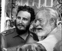 Fidel y Hemingway