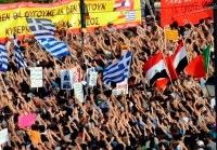 Grecia, protestas 14 de Junio