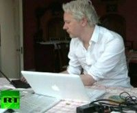 Julian Assange. Foto RT