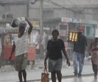 Lluvias en Haiti
