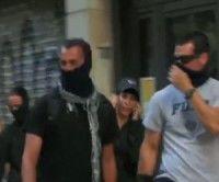 Los manifestantes de Barcelona denuncian que infiltrados de la policía comenzaron los incidentes