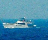 La Flotilla fue interceptada este martes por las fuerzas de Israel. Foto EFE