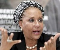 La ex senadora colombiana Piedad Córdova