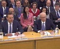 Los Murdoch ante el Parlamento Británico
