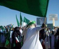 Tribus a favor de Gadaffi