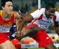 Dayron Robles y Liu Xiang, Mundial de Atletismo Daegu