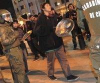 Protesta de estudiantes chilenos. Foto: TELAM/AIN