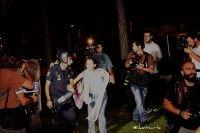 Violencia policial contra indignados en Madrid. Foto: Iker Etxarte, @iketxarte