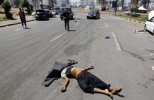 Masacre en Libia