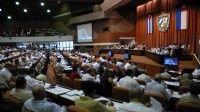 Debates en plenaria del Séptimo Período de sesiones de la séptima legislatura de la Asamblea Nacional del Poder Popular de Cuba. Foto: AIN