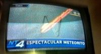 Meteorito en el Cuzco