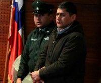 Miguel Millacura, ex carabinero acusado de homicidio de adolescente en protesta. Foto: La Tercera