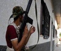 Momentos de la entrada a Trípoli de los rebeldes libios