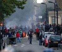 Protestas en Londres. Foto: AFP