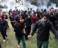 Represión contra los estudiantes chilenos