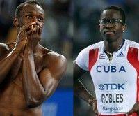 Usaid Bolt y Dayron Robles