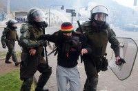 Represión contra estudiantes chilenos