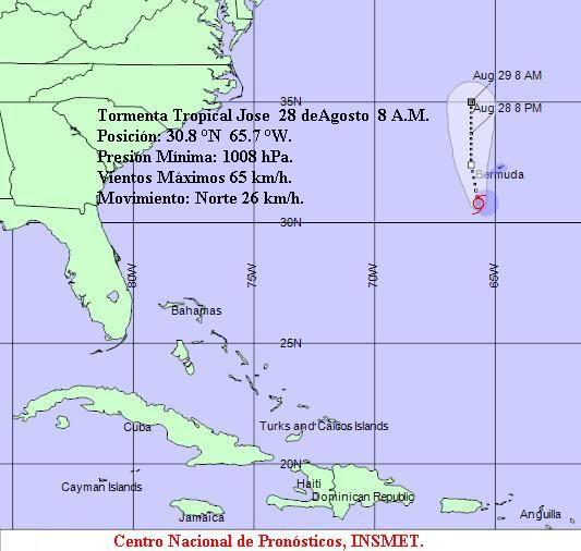 Alerta En JoséMesa Redonda Tropical Por Bermudas La Tormenta Las ZuOlwPTikX