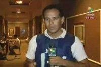 Rolando Segura, corresponsal de Telesur en Libia