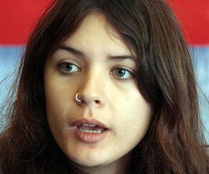 Camila Vallejo. Foto: Rodrigo Álvarez, El Mercurio