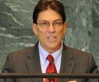 El Canciller cubano Bruno Rodríguez en la ONU
