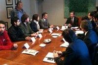 El cronograma lo dio a conocer el ministro chileno de educacion Felipe Bulnes tras reunirse con dirigentes estudiantes. Foto: latercera