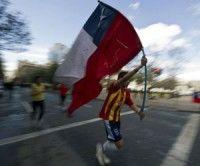 Estudiantes chilenos. Foto: AFP
