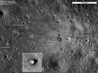 Foto de la Luna. EFE/NASA