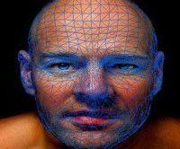 Mapa facial biométrico
