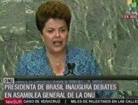 Dilma Roussef, Presidenta de Brasil