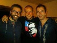 Gracias Chile! fue espectacular! Grandes invitados !@k_johansen y @porliniers que nos acompañaron, expresó René Pérez en su cuenta de twitter. Foto: via @Calle13Oficial