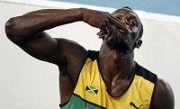 Usain Bolt tras ganar los 200 metros del Mundial de atletismo en Daegu. Foto: Reuters
