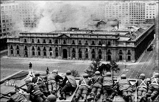 La era de los jardines y los combates en Chile.