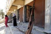 Ruinas de la ciudad de Sirte. Foto: AFP
