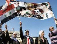 Maniestaciones en Siria a favor de Bassad. Foto: AFP