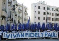 Marcha de los Estudiantes cubanos Foto: Enrique de la Osa,Reuters