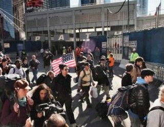 Marcha indignados de Nueva York a Washington