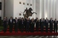 Foto Presidencial de los mandatarios en CELAC